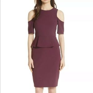 Ted Baker Pippard Peplum Dress Sz 4 (10) NWT!